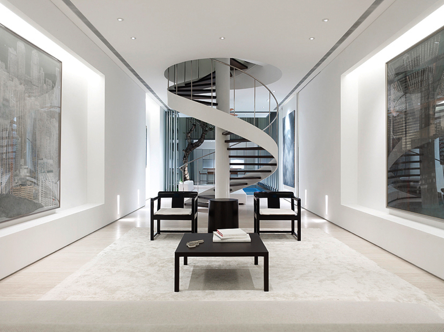 Ming Chairs By Casa Milano At 55 Blair Road Singapore By Ong Ong Pte Ltd Staircase Design Stairs Design Minimalist House Design