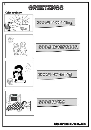 2nd Grade Worksheets 2 Sinif Ingilizce Calisma Kagitlari Bilgeceingilizce In 2020 2nd Grade Worksheets English Worksheets For Kids Kindergarten English