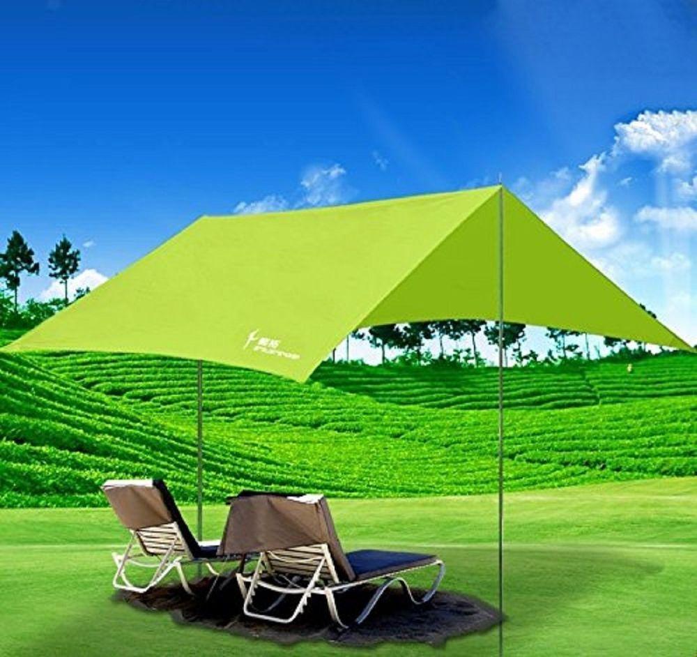 Portable C&ing Sun Shade CanopyPortableFun Waterproof Sun Shelter Tent Rain T & Portable Camping Sun Shade CanopyPortableFun Waterproof Sun ...