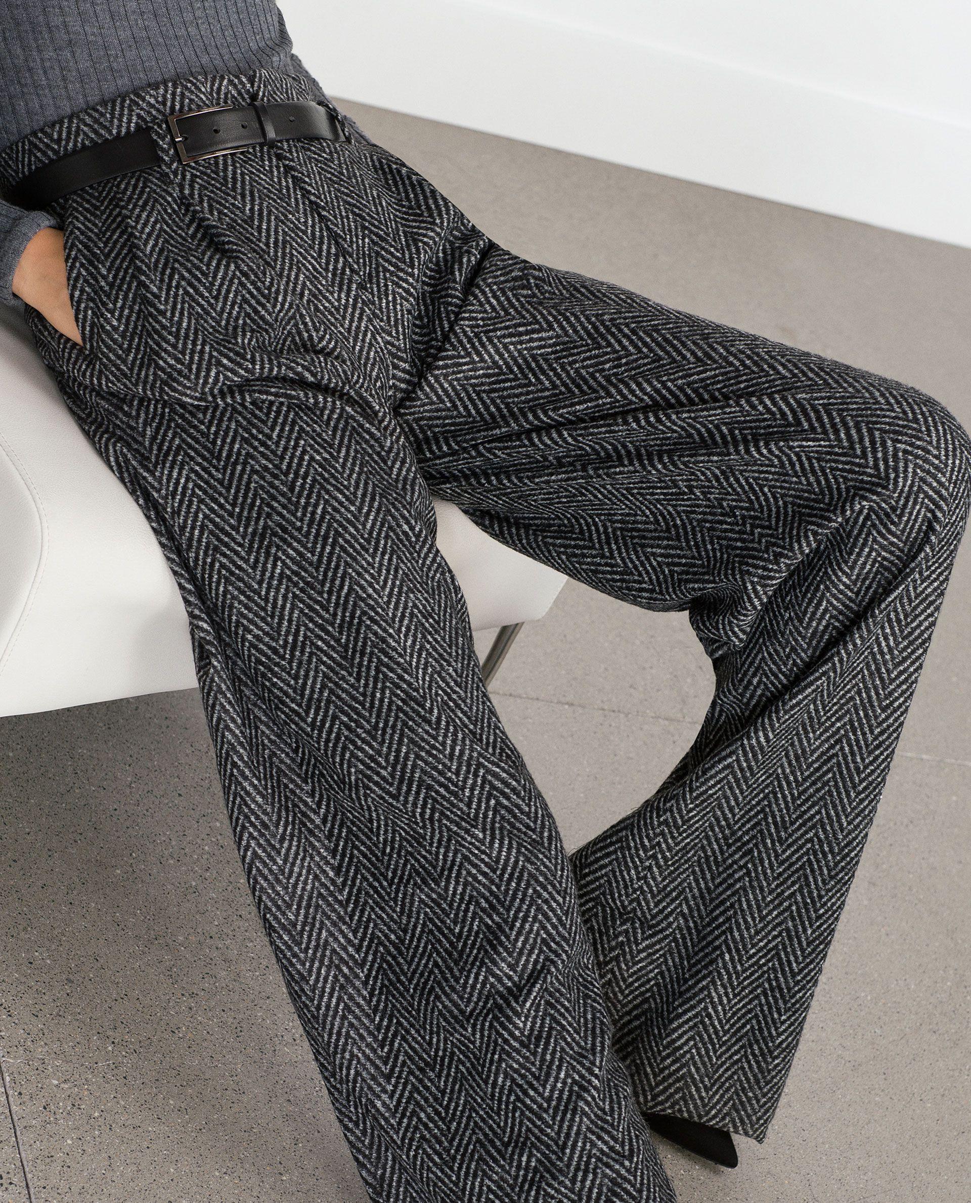 Pantaloni spigati visualizza tutto pantaloni donna for Zara uffici milano