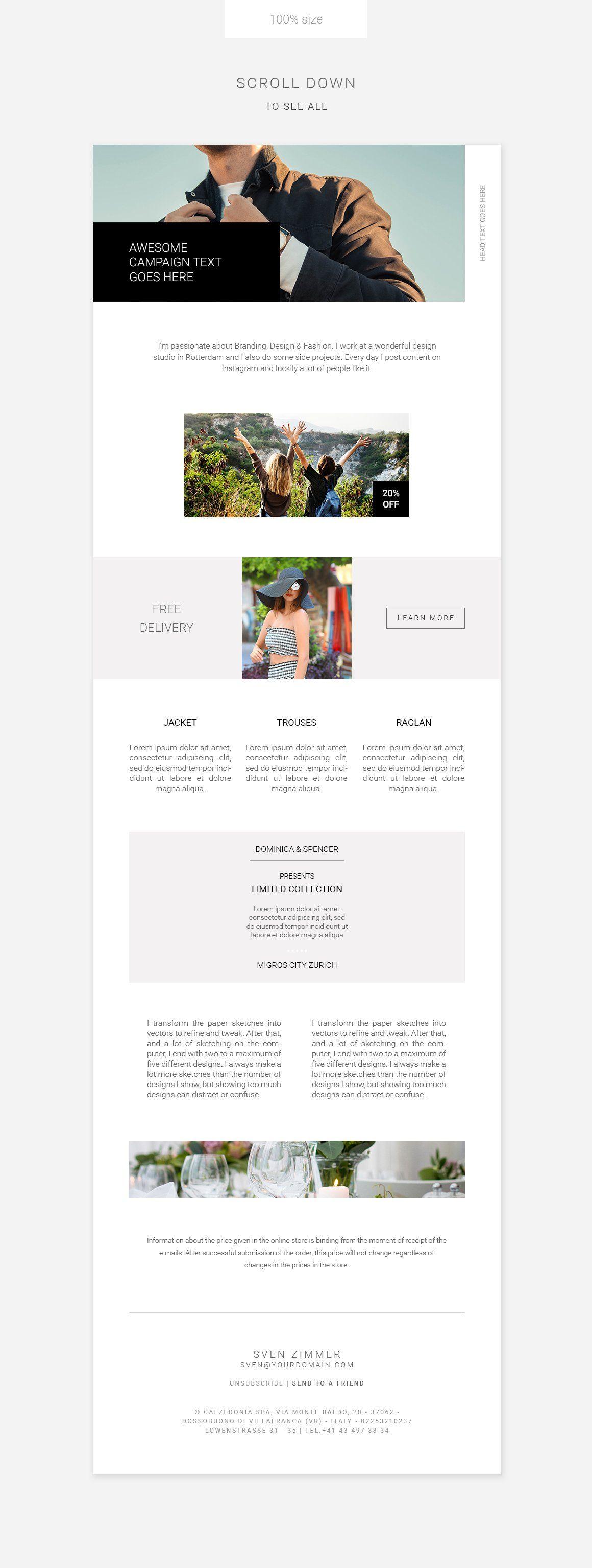 Clean E Newsletter Bundle Newsletter Templates Adobe Photoshop Elements Photoshop Elements