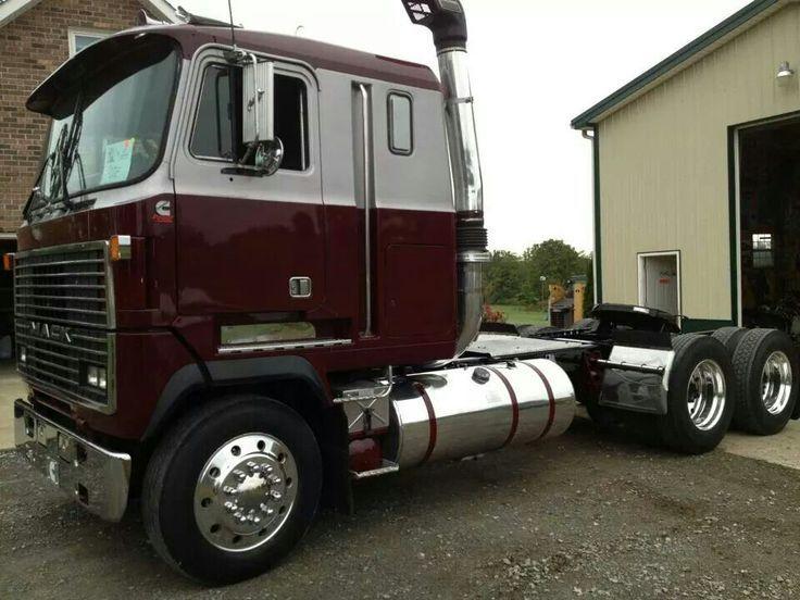 Trucking Cabovers Mack Trucks Trucks Semi Trucks