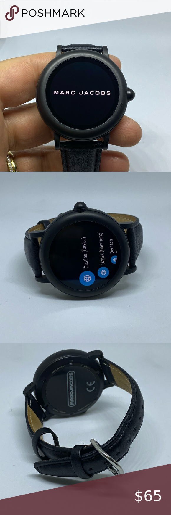 Marc Jacobs Riley Touchscreen Smartwatch Marc Jacobs Smart Watch Jacobs
