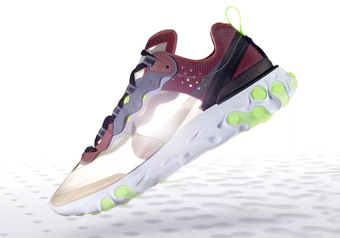 alta moda store 50-70% di sconto Where To Buy Nike React Element 87 Desert Sand AQ1090-002 | Nike ...