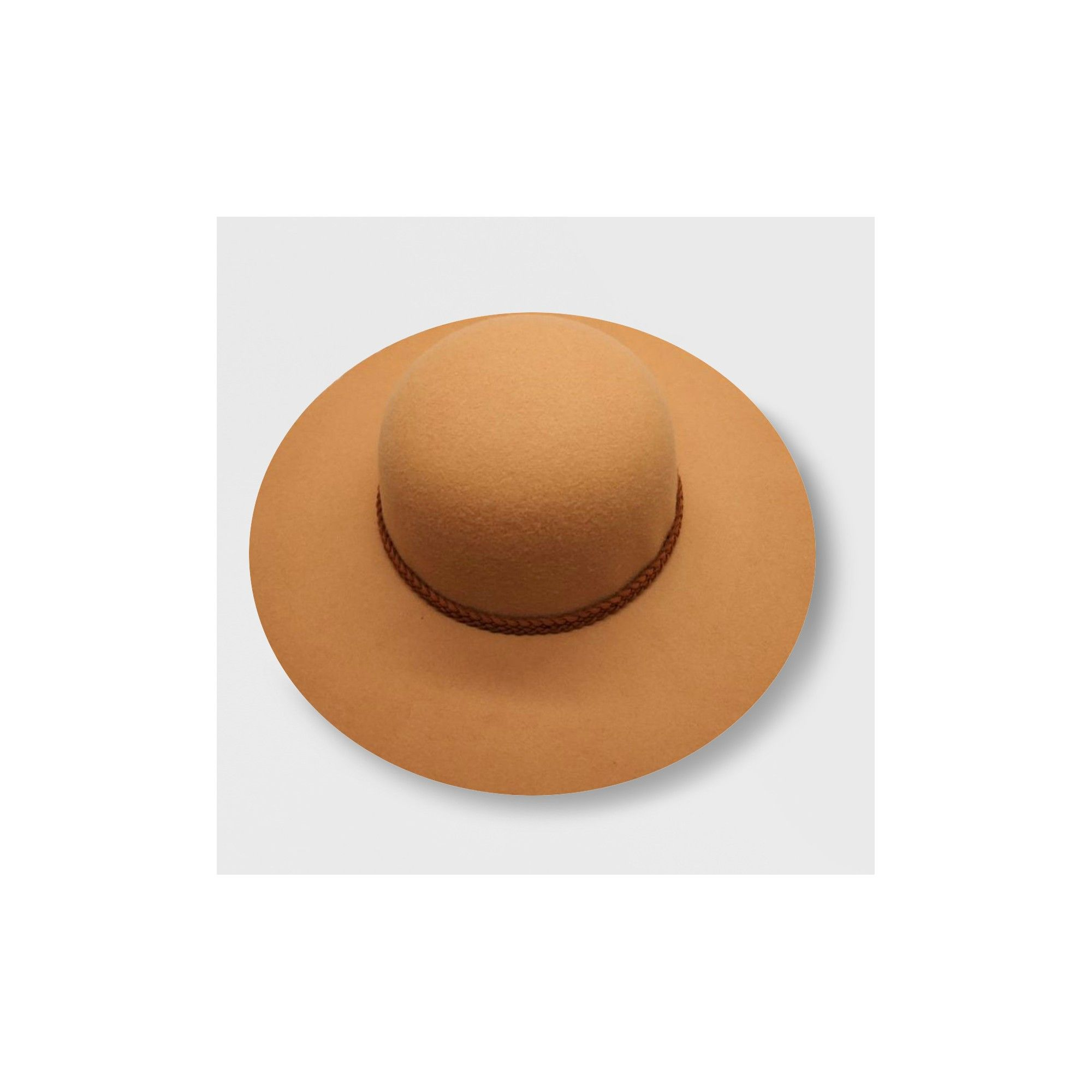 fd93187a685501 Genuine Kids from OshKosh Toddler Girls' Faux Felt Floppy Hat - Tan 2T-5T