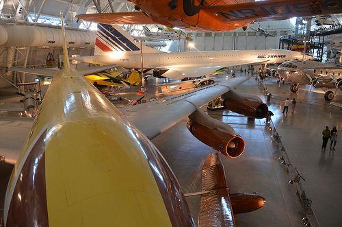 Steven F Udvar Hazy Center Boeing 367 80 Jet Transport With