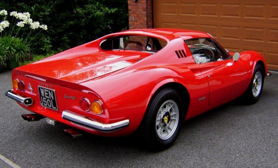1969 Ferrari Dino 246 Gt Ferrari Car Classy Cars Classic Sports Cars