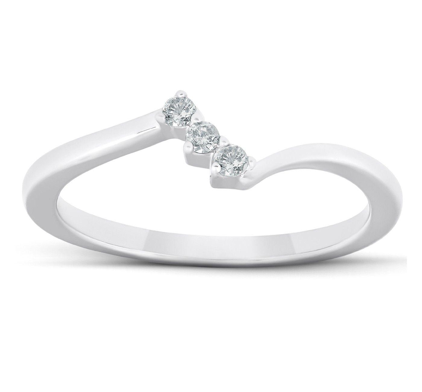 Pompeii3 1 2 Ct Marquise Diamond Engagement Trio Wedding Ring Set 10k White Gold Affiliate D Wedding Ring Trio Sets Wedding Ring Sets Wedding Rings Sets Gold