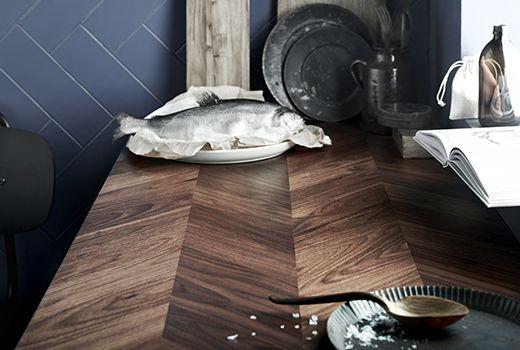 IKEA Küchen Arbeitsplatten wie z. B. BARKABODA Arbeitsplatte ...