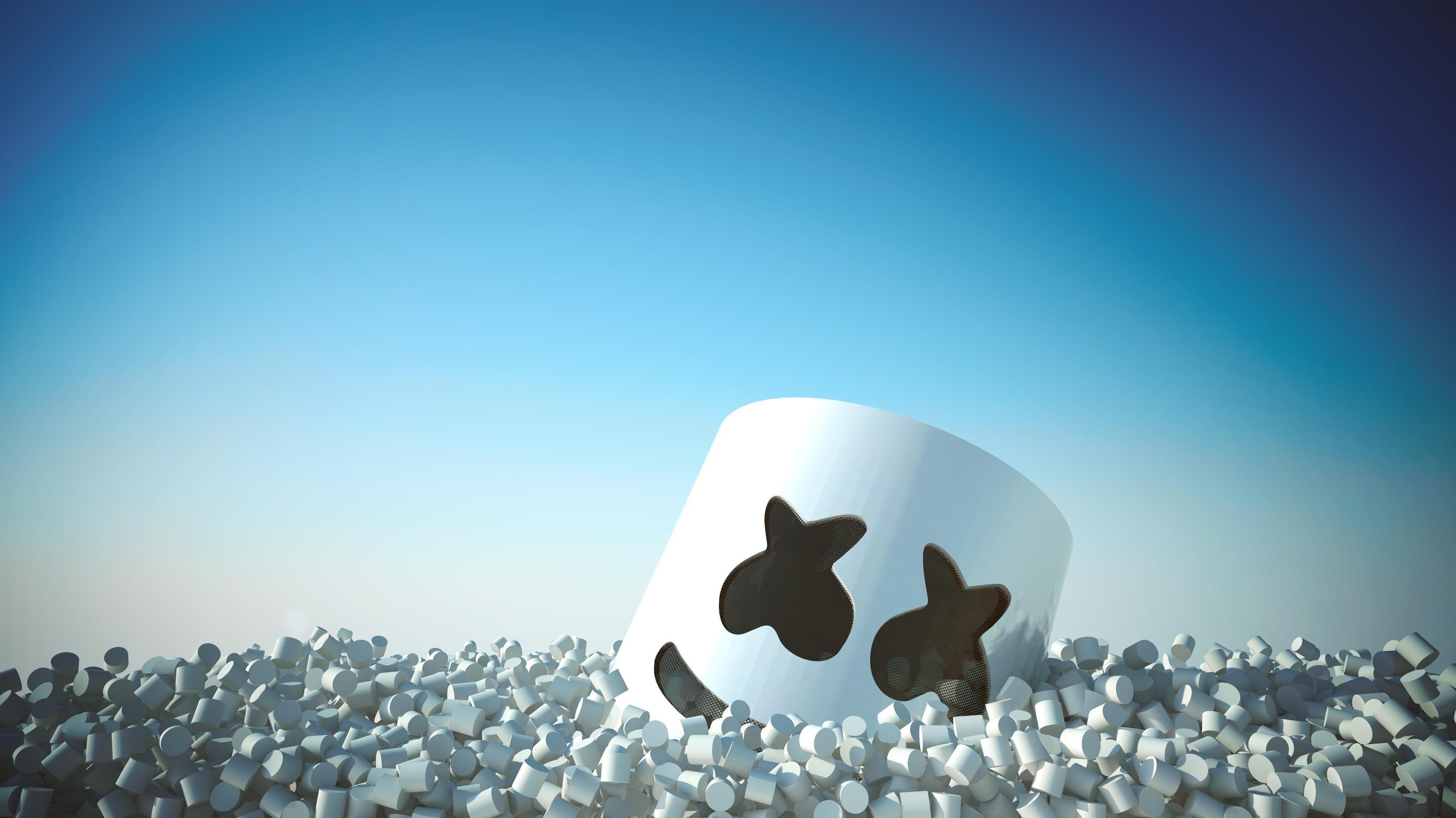 Marshmello 4k Wallpaper | Music HD Wallpapers | 8k ...