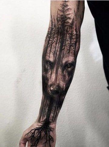 Tatuajes para todo el brazo completo tribales en hombres Pinterest