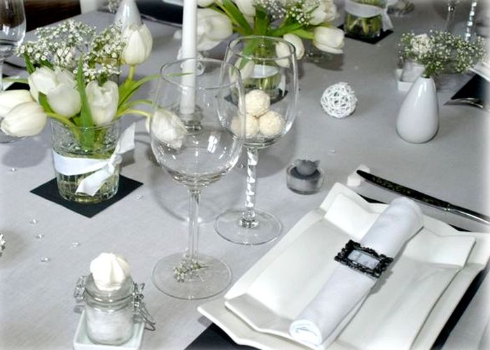 decoration table mariage design