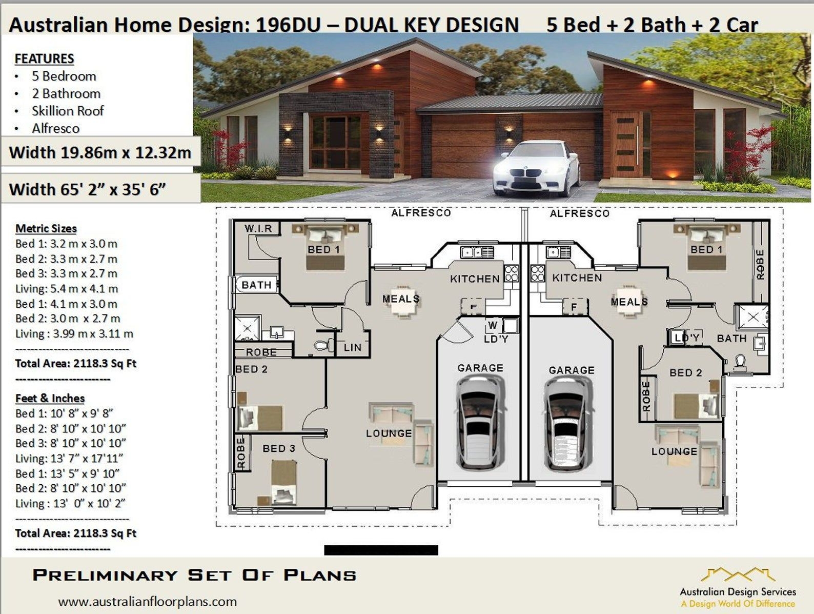 Duplex Best Selling House Plans 2 Family House Plan Etsy In 2021 Duplex Design Family House Plans Duplex Floor Plans