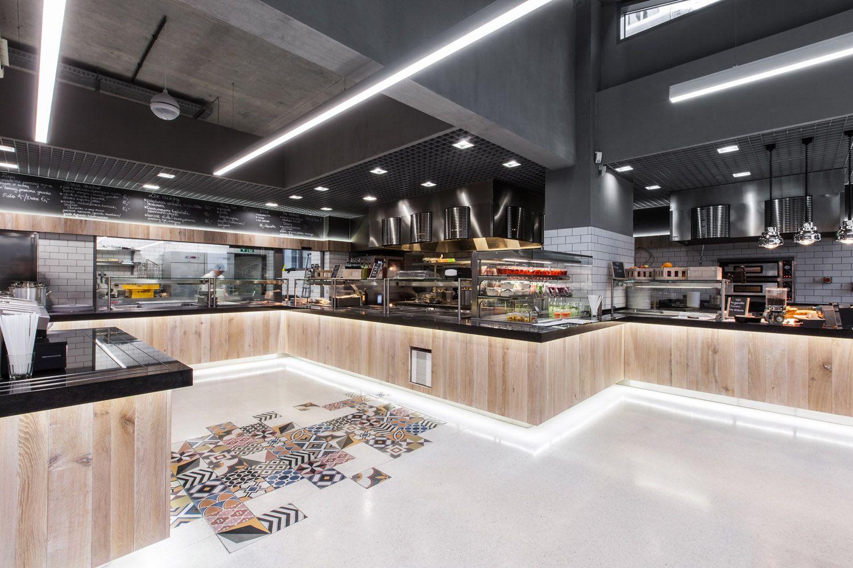 Pierwsza Restauracja Lidl Pod Poznaniem Pln Design Restaurant Interior Restaurant Retail Design