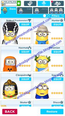 Despicable Me Minion Rush v4 1 0h Mod Apk [Unlimited Tokens/Bananas