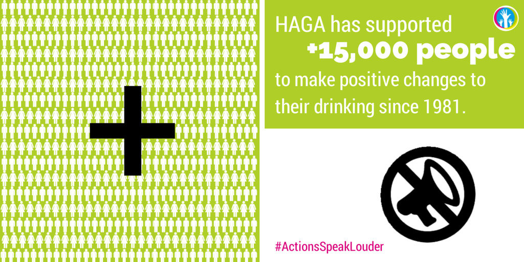 HAGA take action on alcohol. You can too.