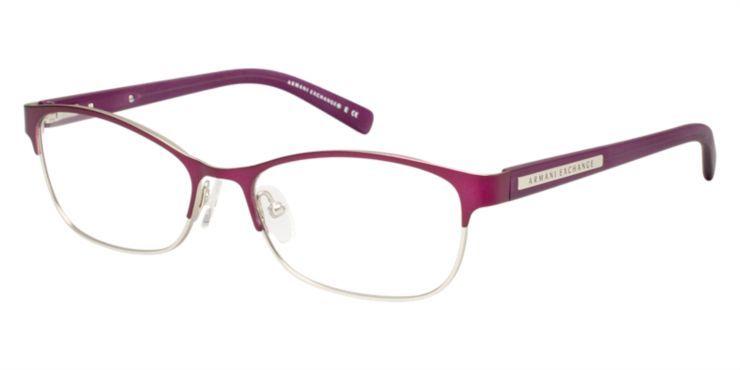 cf7c869599 Armani Exchange AX1010 Purple Eyeglasses