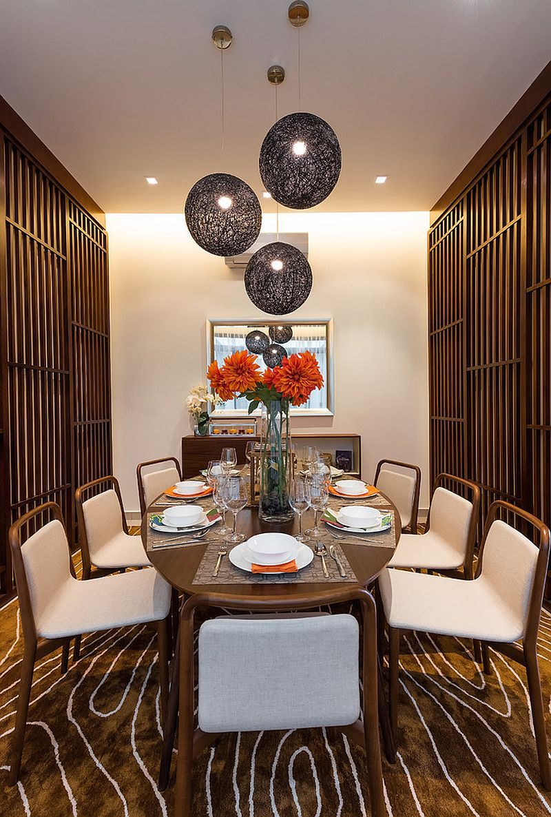 dining room furniture charming asian. Serene And Practical: 40 Asian Style Dining Rooms Room Furniture Charming