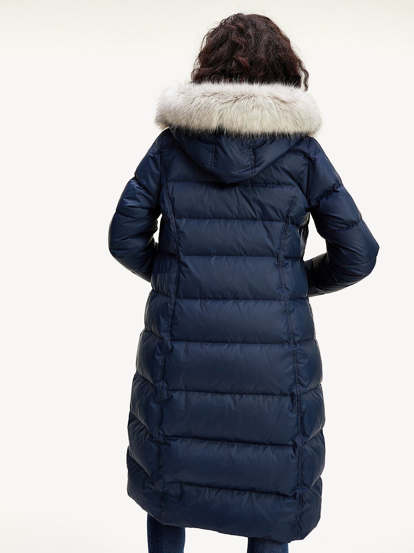 Essential Down Filled Maxi Coat Black Tommy Hilfiger In 2021 Maxi Coat Tommy Hilfiger Outerwear Jackets [ 1819 x 1364 Pixel ]