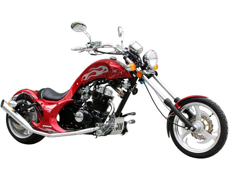 Dream Chopper 3 4 Scale Chopper Mini Bike 250cc Engine
