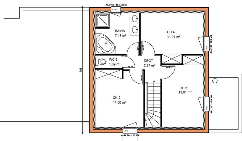 Avant-projet | Constructeur maison, Projet maison, Maison a etage