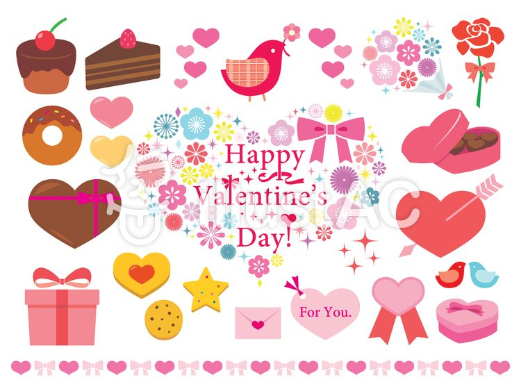 イラスト バレンタイン カード