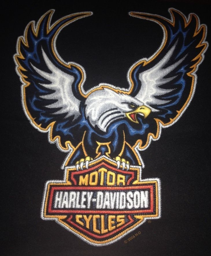 Men S Black Harley Davidson T Shirt Black Eagle 100 Cotton Motorcycles Classic Harley Davidson Black Harley Davidson Harley Davidson