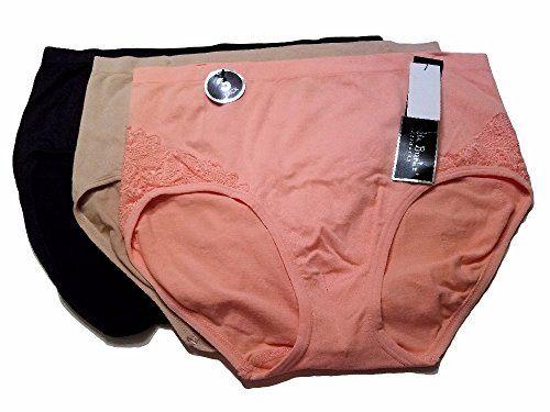 7b80bc89565 Delta Burke Intimates Women s Plus Size Microfiber Hi-Rise Brief Panties