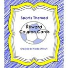 Reward your students with this little twist to a traditional punch card! These reward coupon cards are meant for you to sign with an initial, not p...