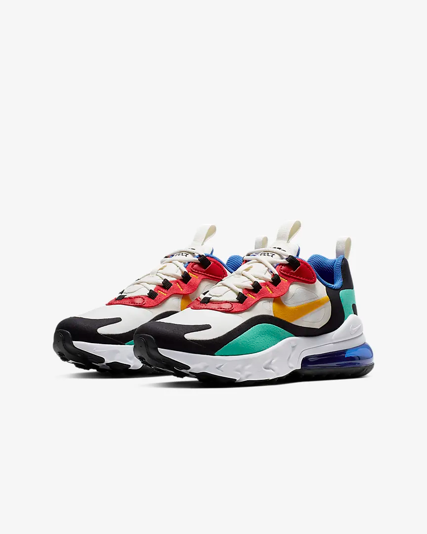 Nike Air Max 270 React Big Kids' Shoe. | Chaussure