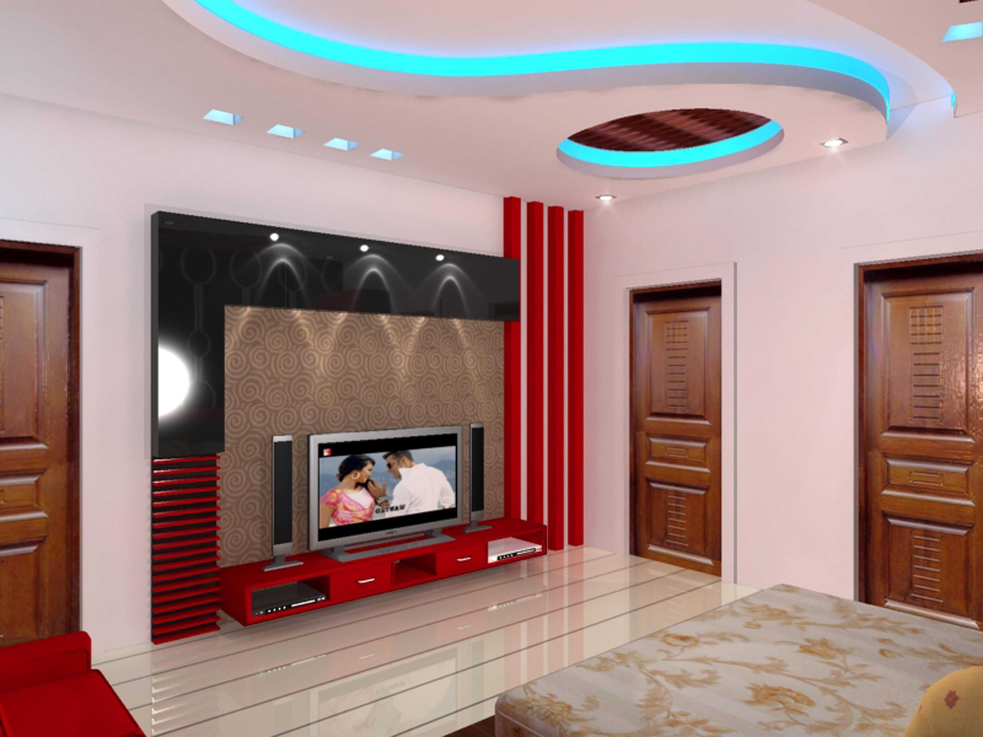 Interior, White Bedding On Wooden Laminate Wood Floor ...