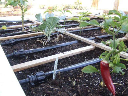 Ultimate Drip Irrigation System For Raised Bed Gardens No Assembly Required All Sizes Available