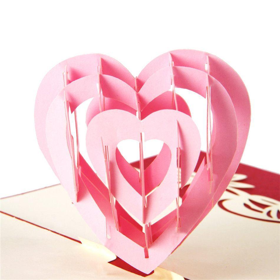 Wedding Card Greeting Card Invitation Card Romantic Love Heart