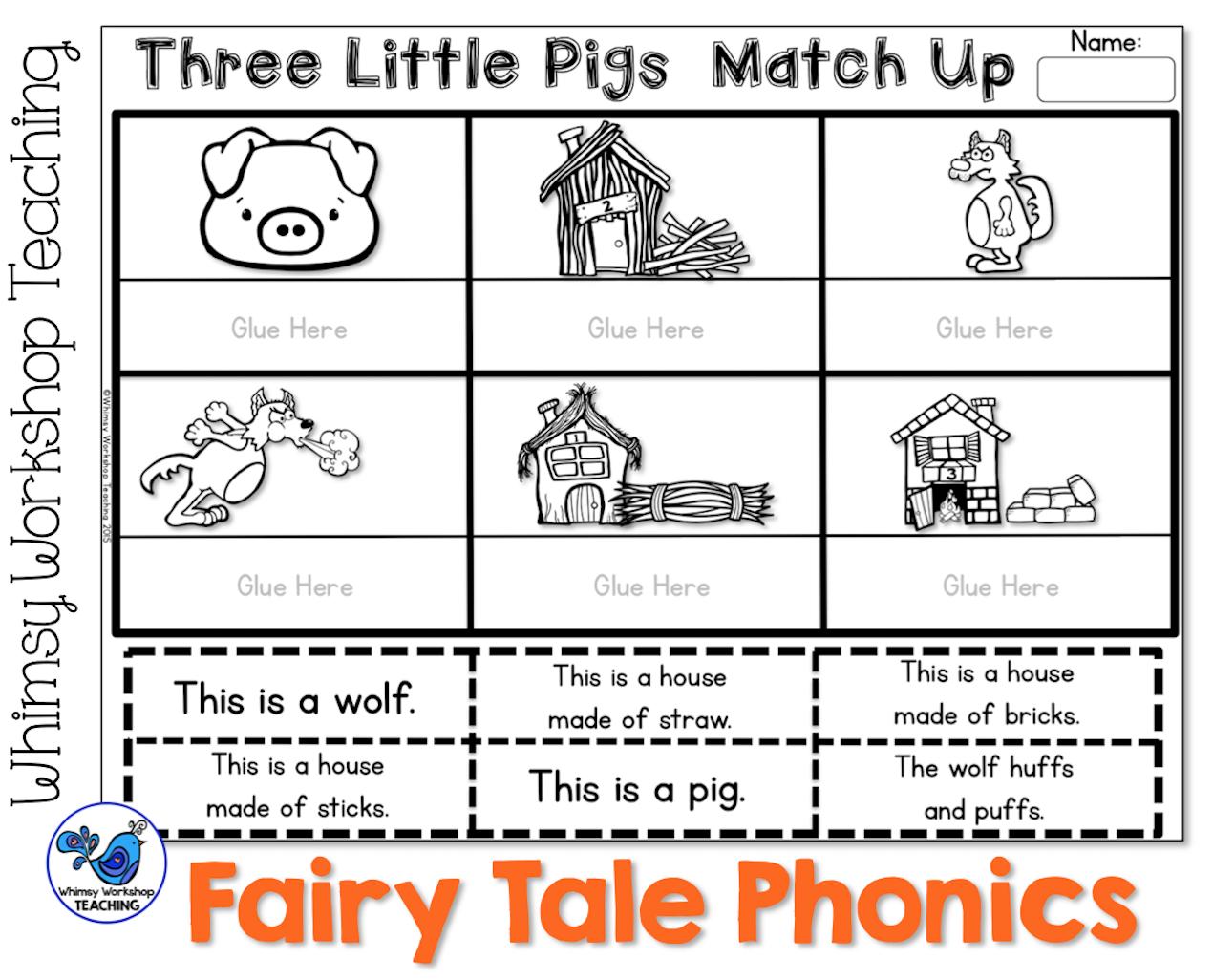 Fairy Tale Phonics And Clip Art Kids