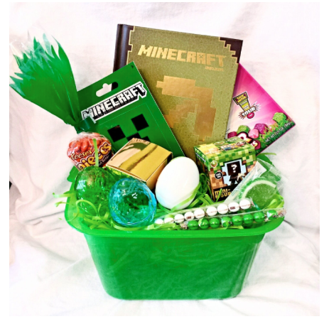 Minecraft easter gift basket bucket at amazon victor mia easter minecraft easter gift basket bucket at amazon negle
