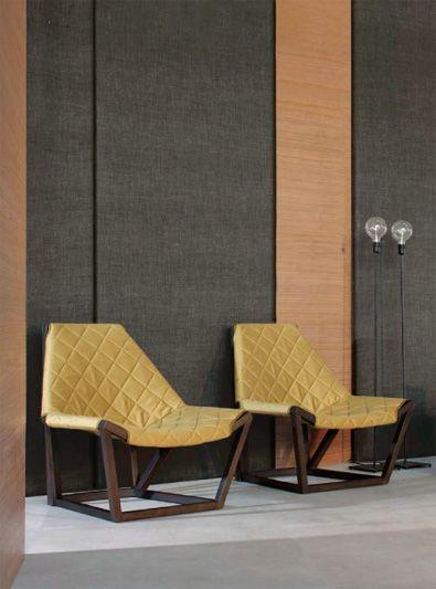 "Potocco Tenso Lounge Chairs 32.28"" w x 31.1"" d x 32.67"" h"