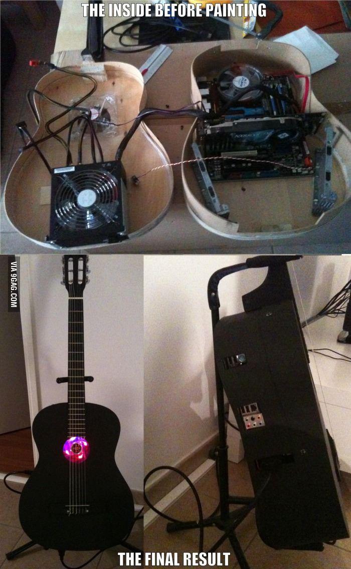 My computer case everyone, the Guitardinateur(c) in 2020