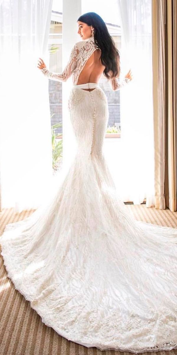 Photo of 30 stunning long sleeve wedding dresses for brides | Wedding dresses guide