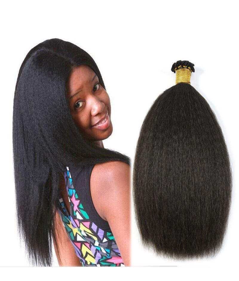 Full head set natural black1b kinky straight coarse yaki clip high quality natural black kinky straight coarse yaki brazilian virgin hair weave hair extensions will ships out in 24 hours pmusecretfo Gallery