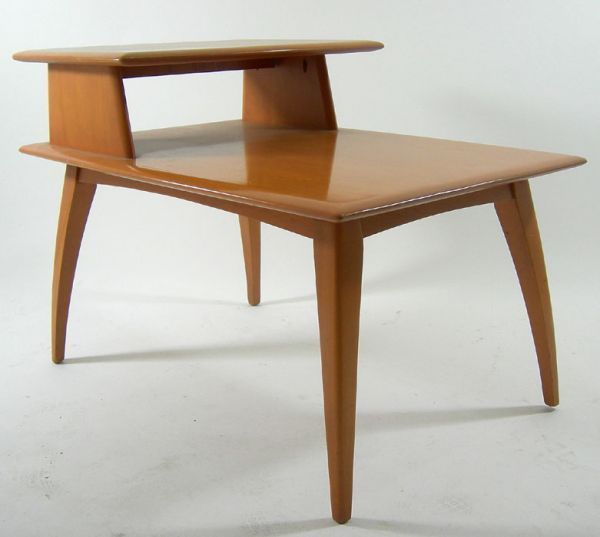 heywood wakefield side table m 1504 | mid century modern