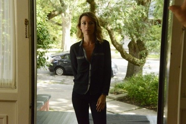 Natalie Zea and under the dome