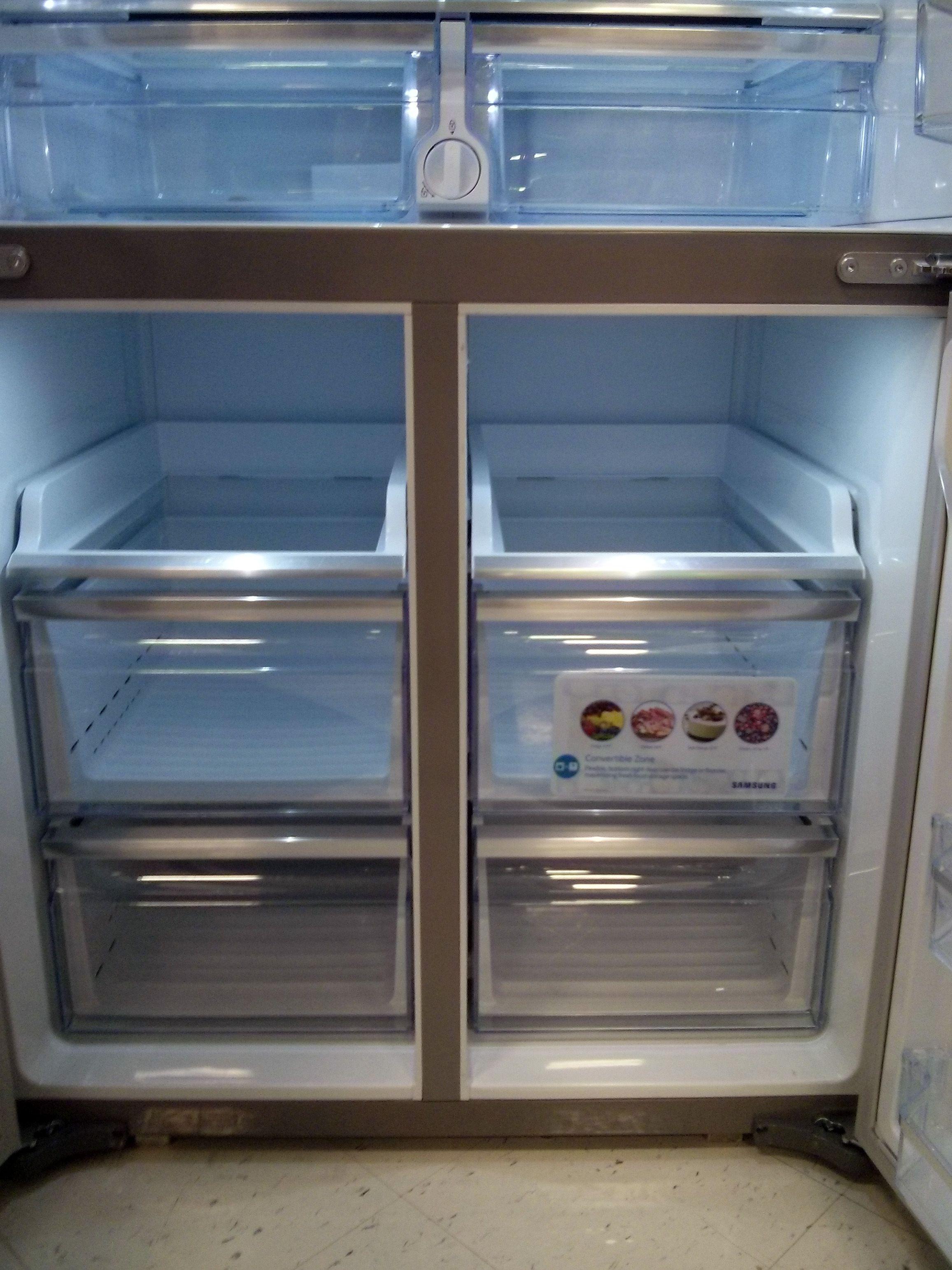 Freezer drawers french door refrigerator