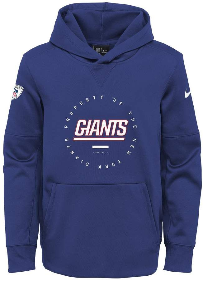 133e057f6 Boys 8-20 Nike New York Giants Property Of Hoodie