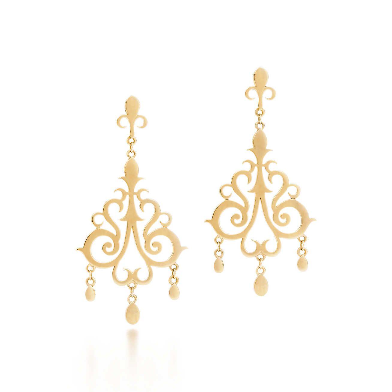 Tiffany Enchant Drop Earrings
