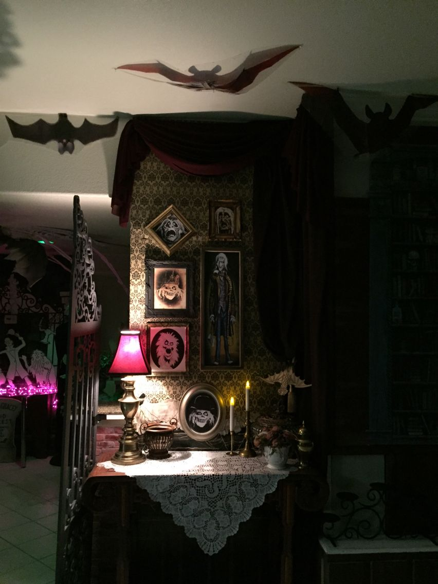 Haunted Mansion Home Decor: Haunted Mansion : Halloween 2015 My Own Props