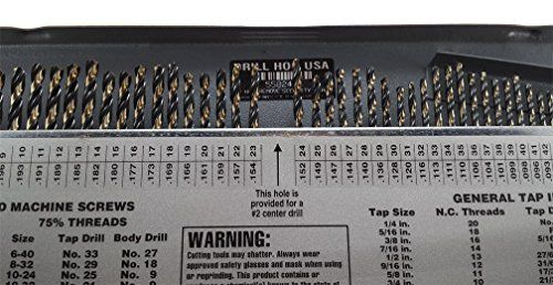Drill hog 115 pc drill bit set letter number wire gauge m7 drill hog 115 pc drill bit set letter number wire gauge m7 lifetime warranty usa made greentooth