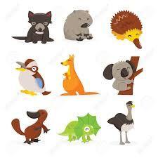 Resultado De Imagen Para Imagenes De Animales De La Costa Animados Australian Animals Animal Icon Animal Clipart