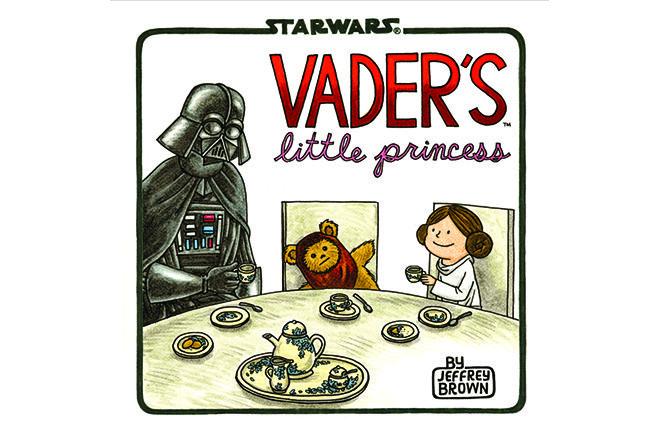 Vader's Little Princess - o vilao e sua filha Leia em quadrinhos, veja http://www.bluebus.com.br/vaders-little-princess-o-vilao-e-sua-filha-leia-em-quadrinhos-veja/