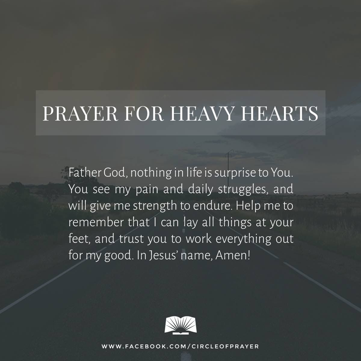 Pin by gat on Prayers | Heavy heart quotes, Knowing god ...