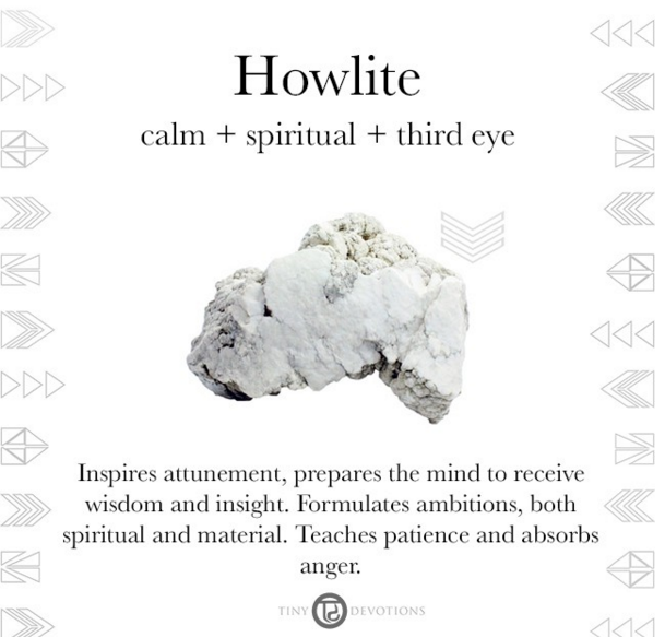 Stress Less With Howlite This Calming Stone Is Said To